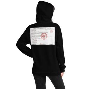 """""""Covid Certified"""" – Unisex Hoodie"""
